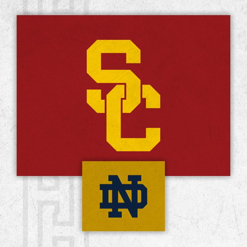 USC vs NOTRE DAME Image