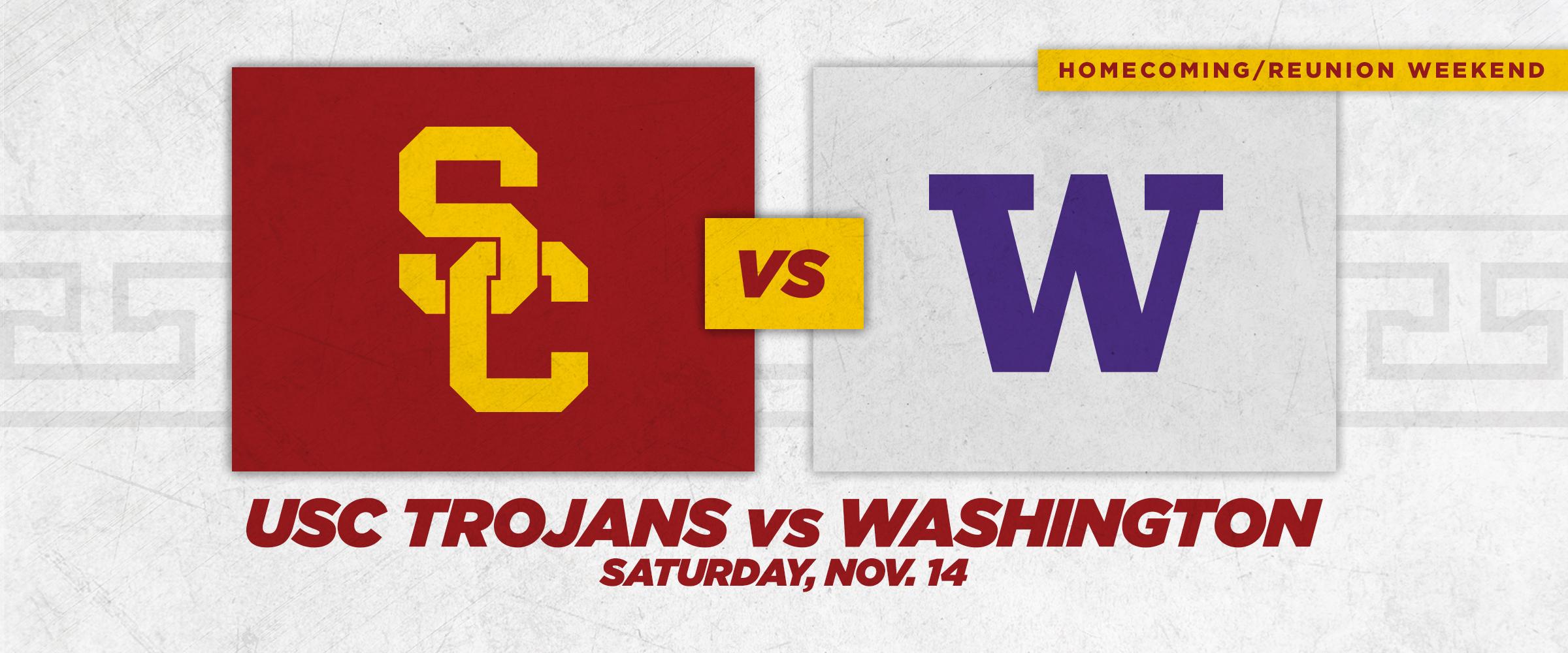 USC vs WASHINGTON