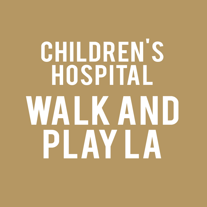 Children's Hospital Walk and Play LA
