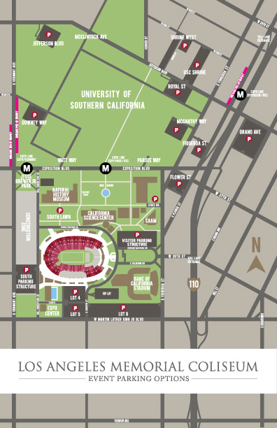 Parking – Los Angeles Coliseum