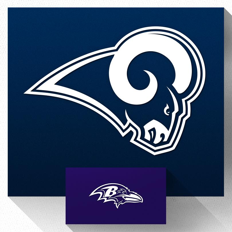 Rams vs Ravens Image