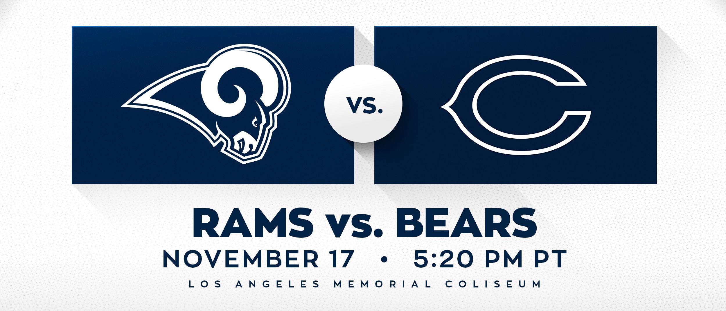 Rams vs Bears
