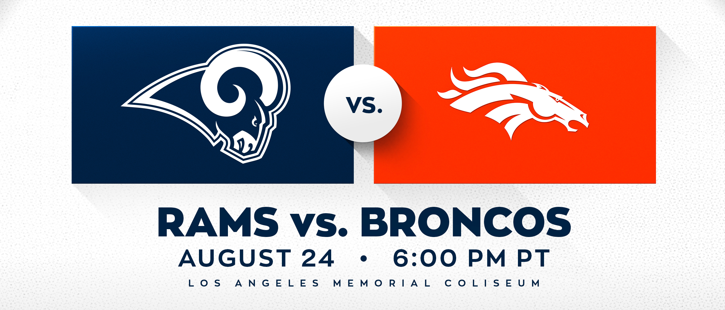 Rams vs Broncos