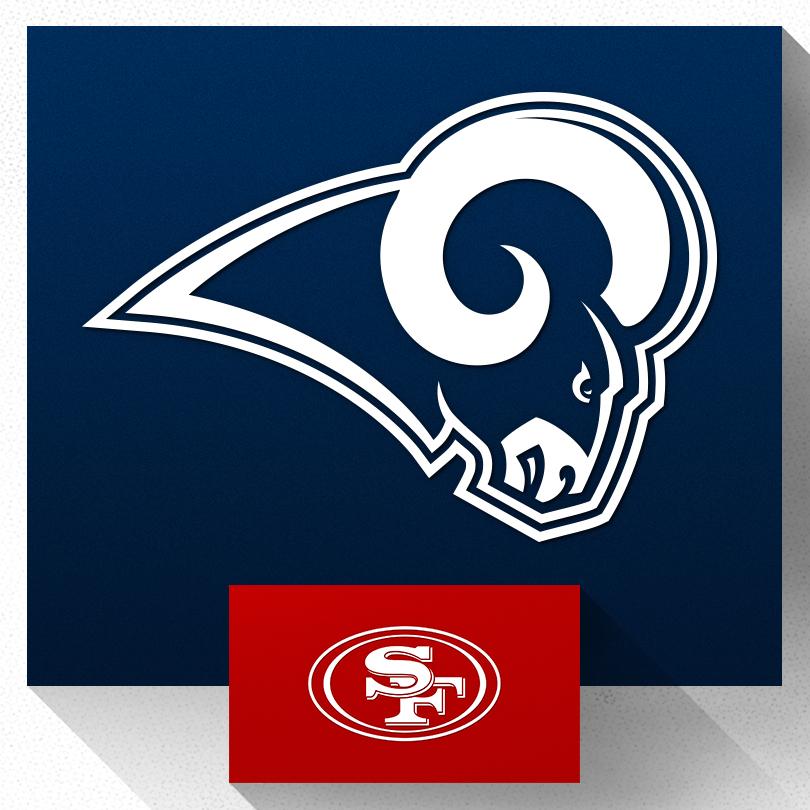 Rams vs 49ers Image
