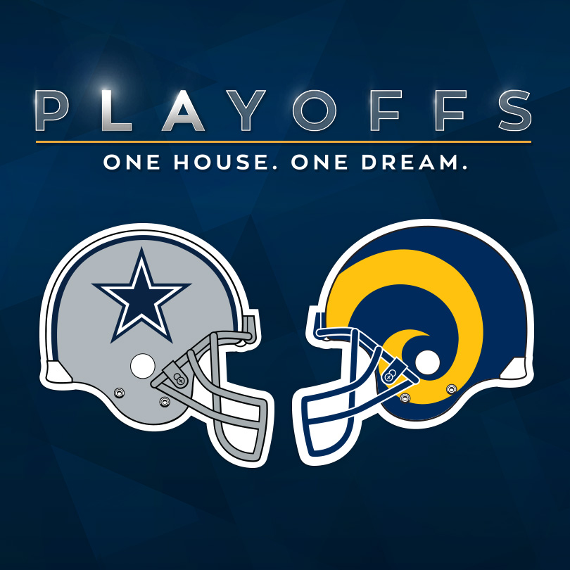 Cowboys vs Rams – NFC Divisional Playoff Game