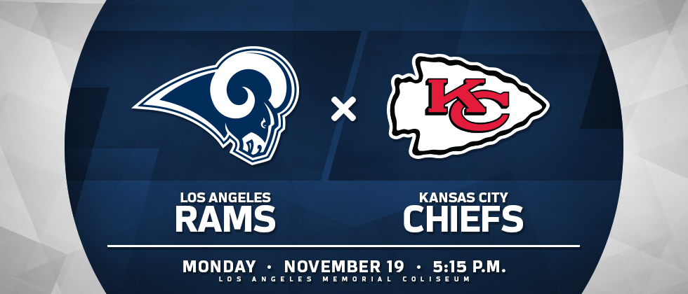 RAMS VS CHIEFS