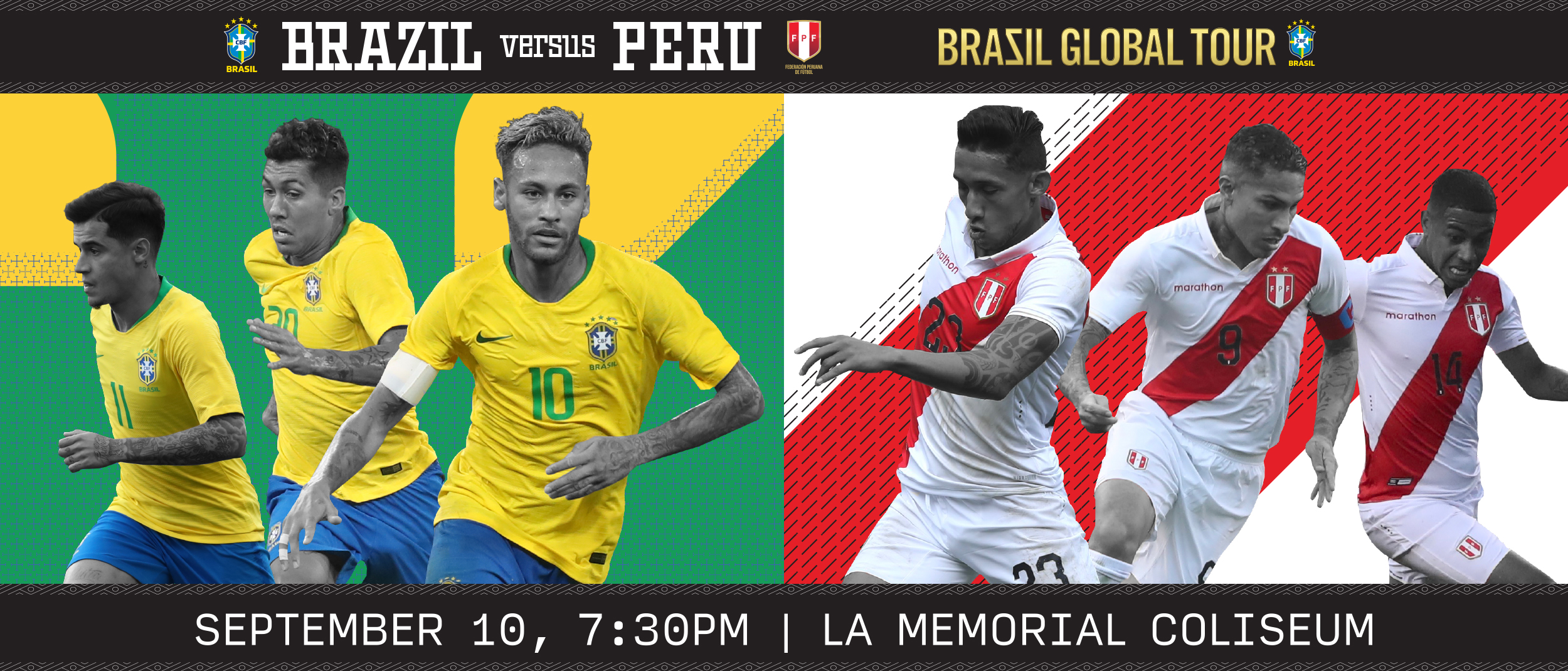 Brazil Vs Peru Los Angeles Coliseum
