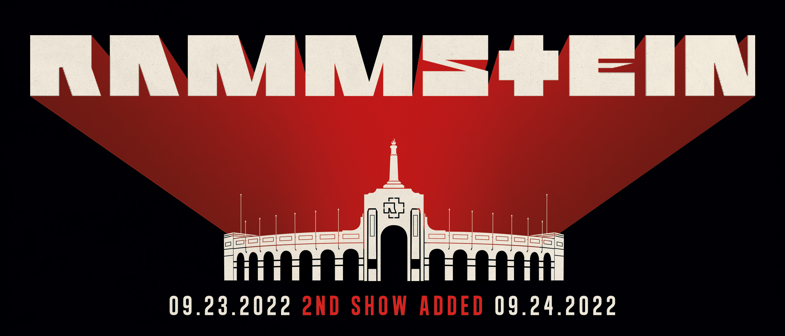 Rammstein (Rescheduled to 9/23/2022 and new date added 9/24/22)
