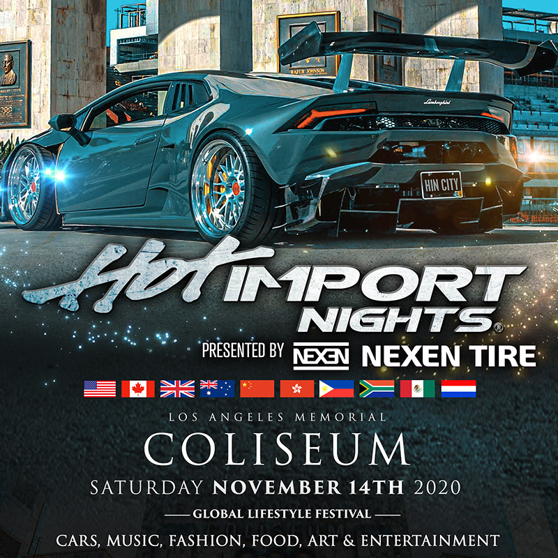Hot Import Nights 2020 (New Date) Image
