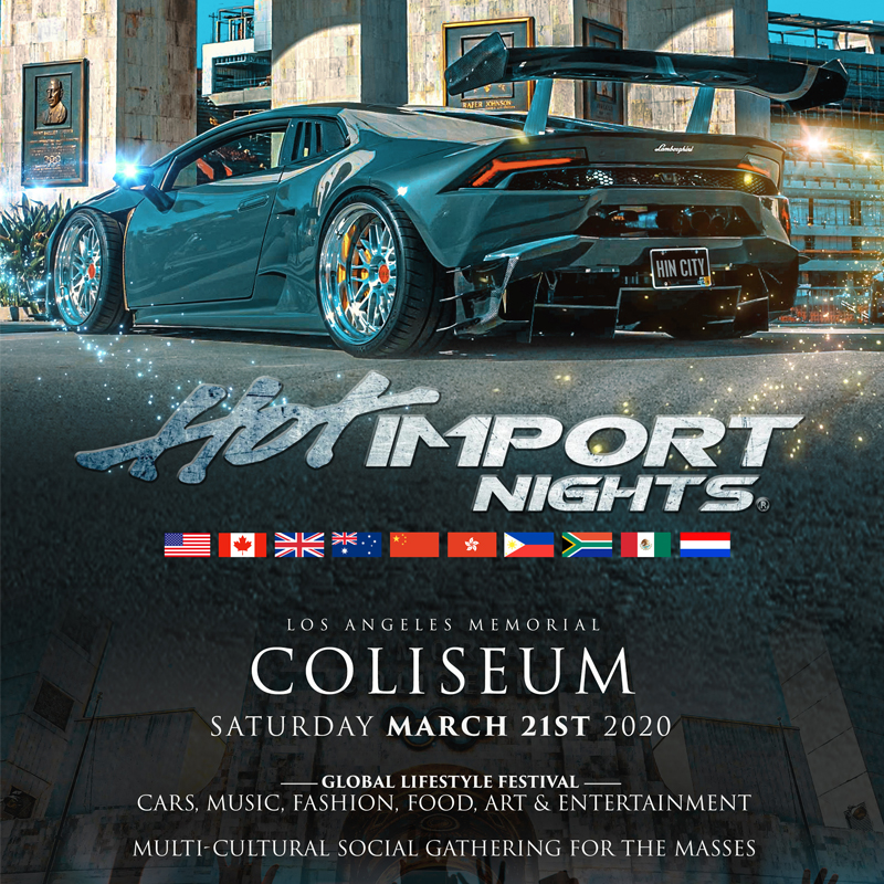 Hot Import Nights 2020 Image