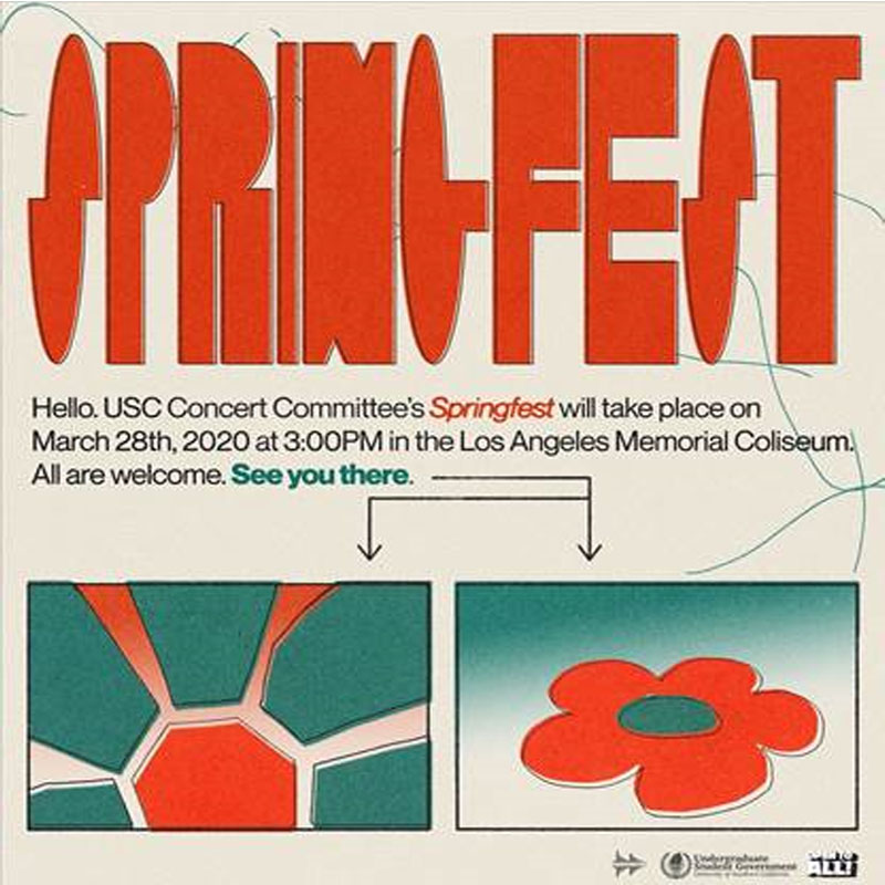 Springfest (USC Students Only) Image