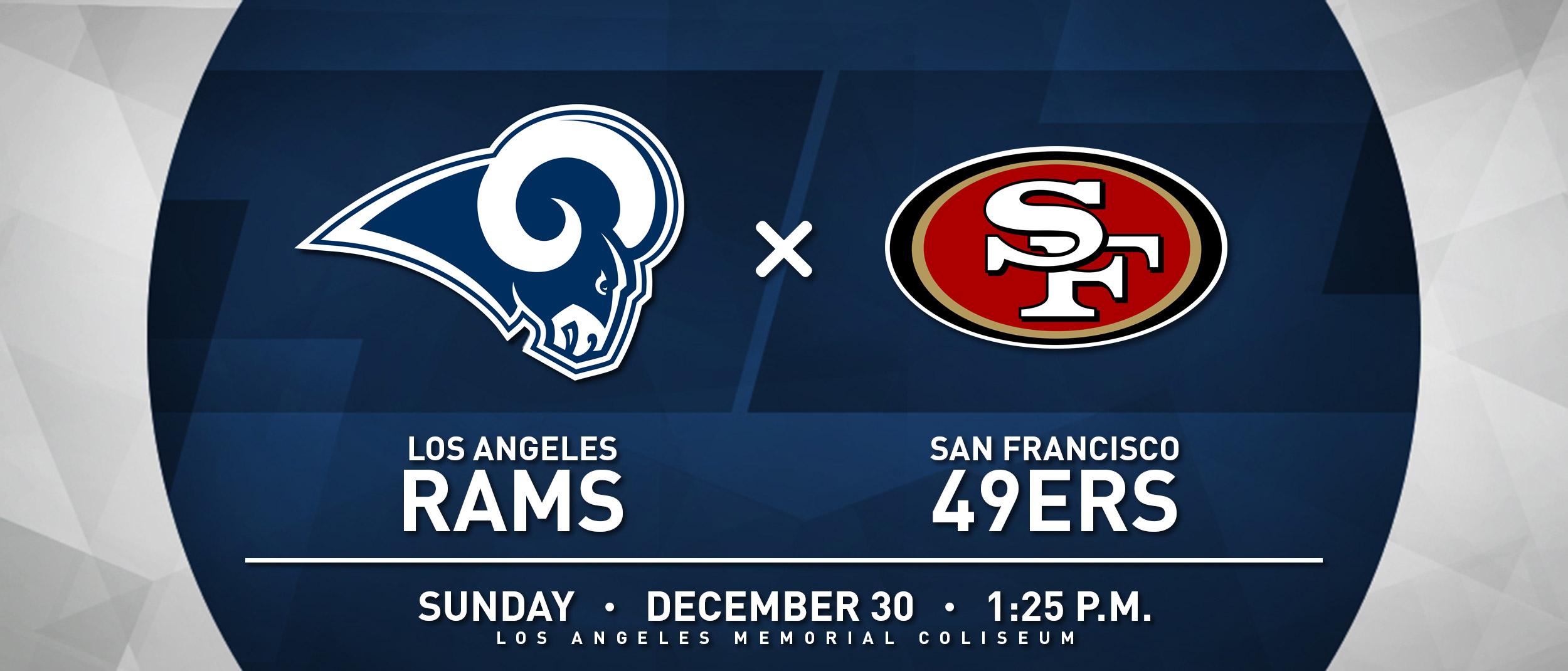 RAMS VS 49ERS