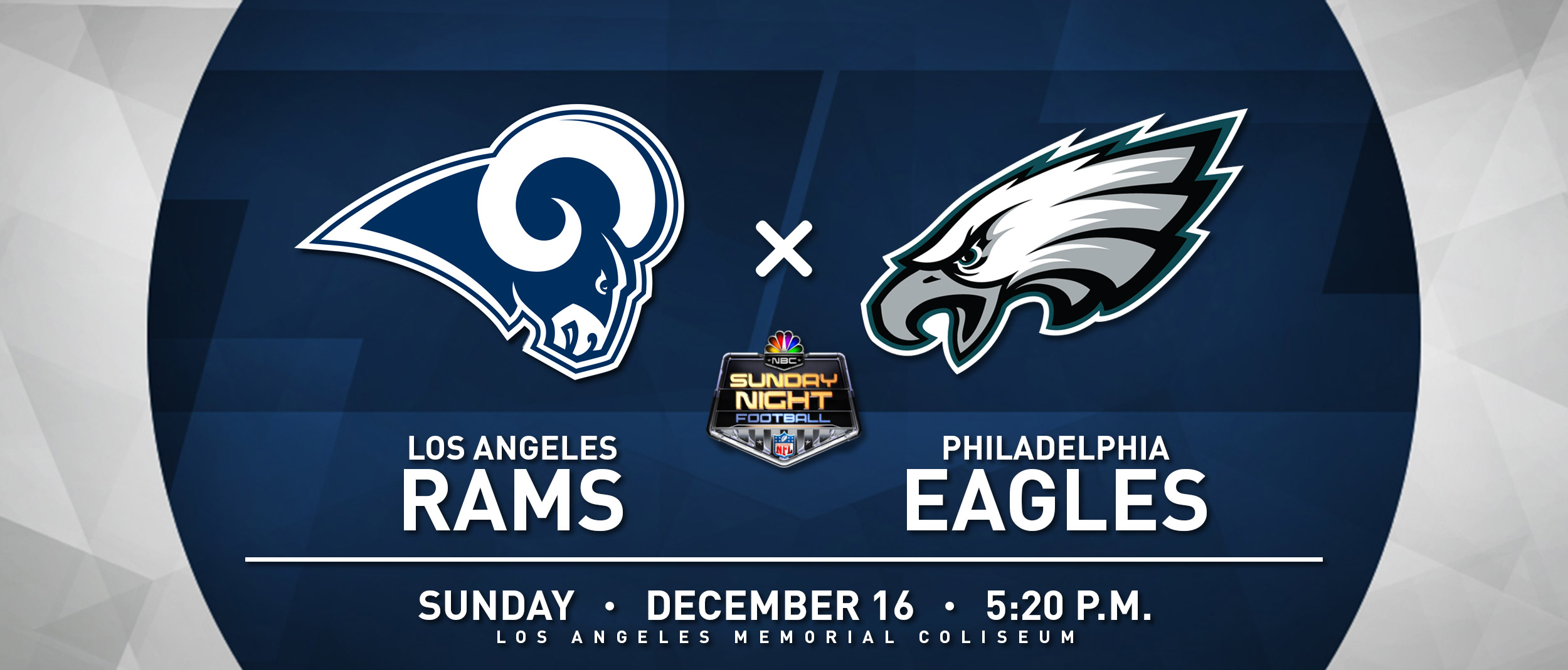 RAMS VS EAGLES