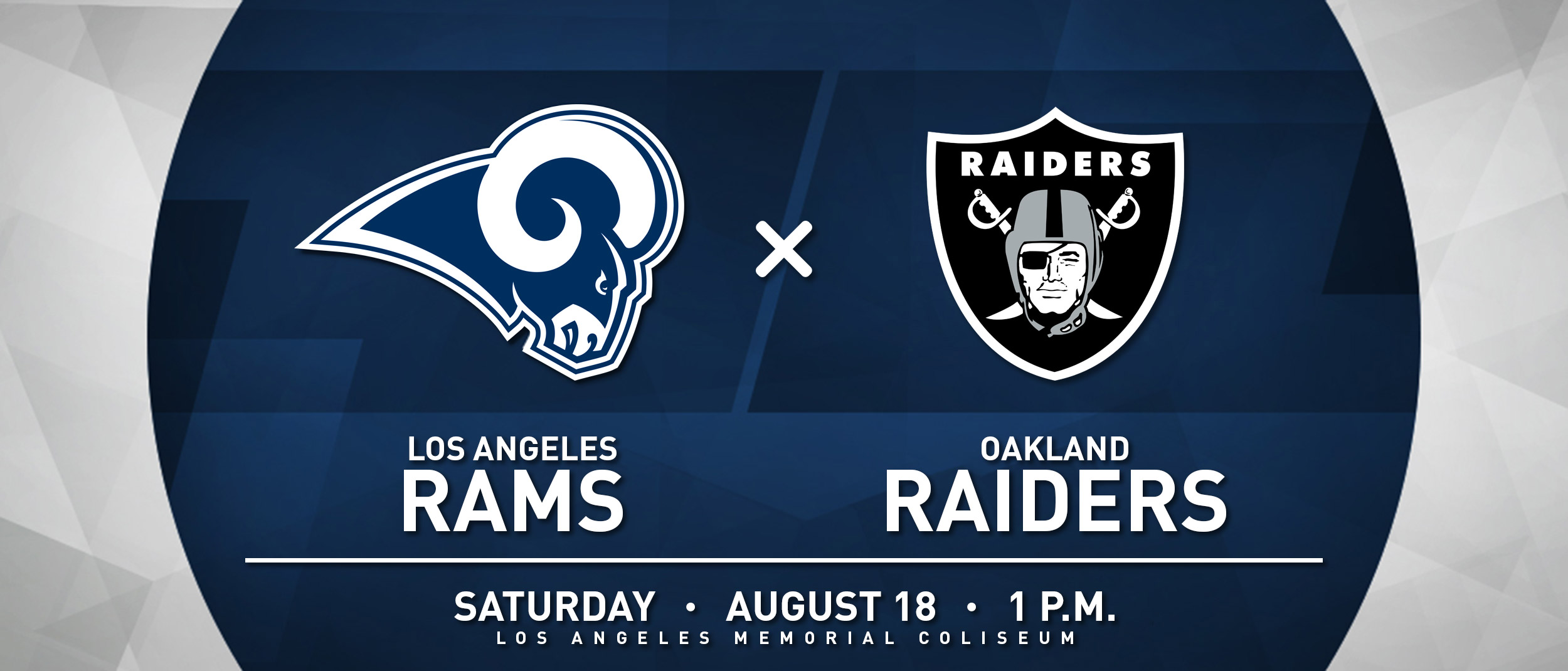 RAMS VS RAIDERS
