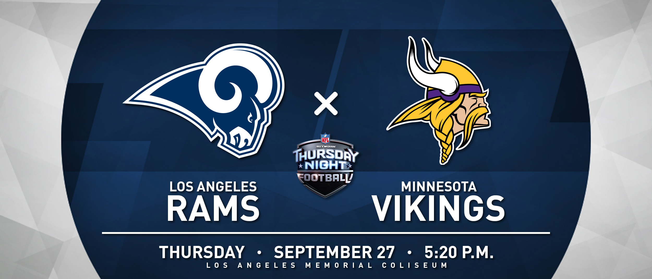RAMS VS VIKINGS